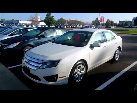 2011 Ford Fusion Se Start Up And Full Tour Youtube