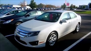 2011 Ford Fusion SE Start Up and Full Tour