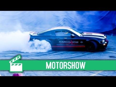 AMERICAN MOTOR SHOW - Vlog 25 || Hey guys!