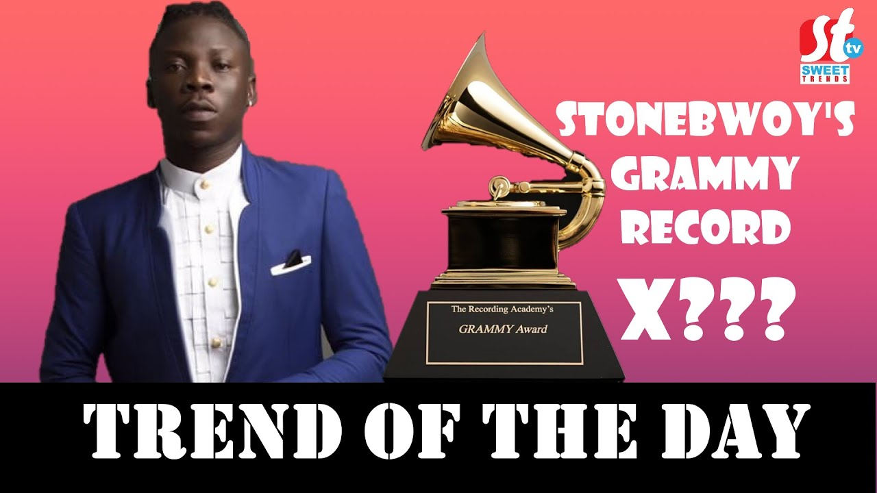 Stonebwoy Sets GRAMMY AWARDS RECORD To Make Africa Proud