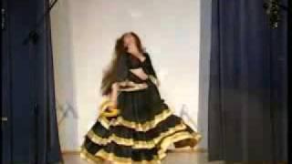 Юлия Сак. Циганский танец.