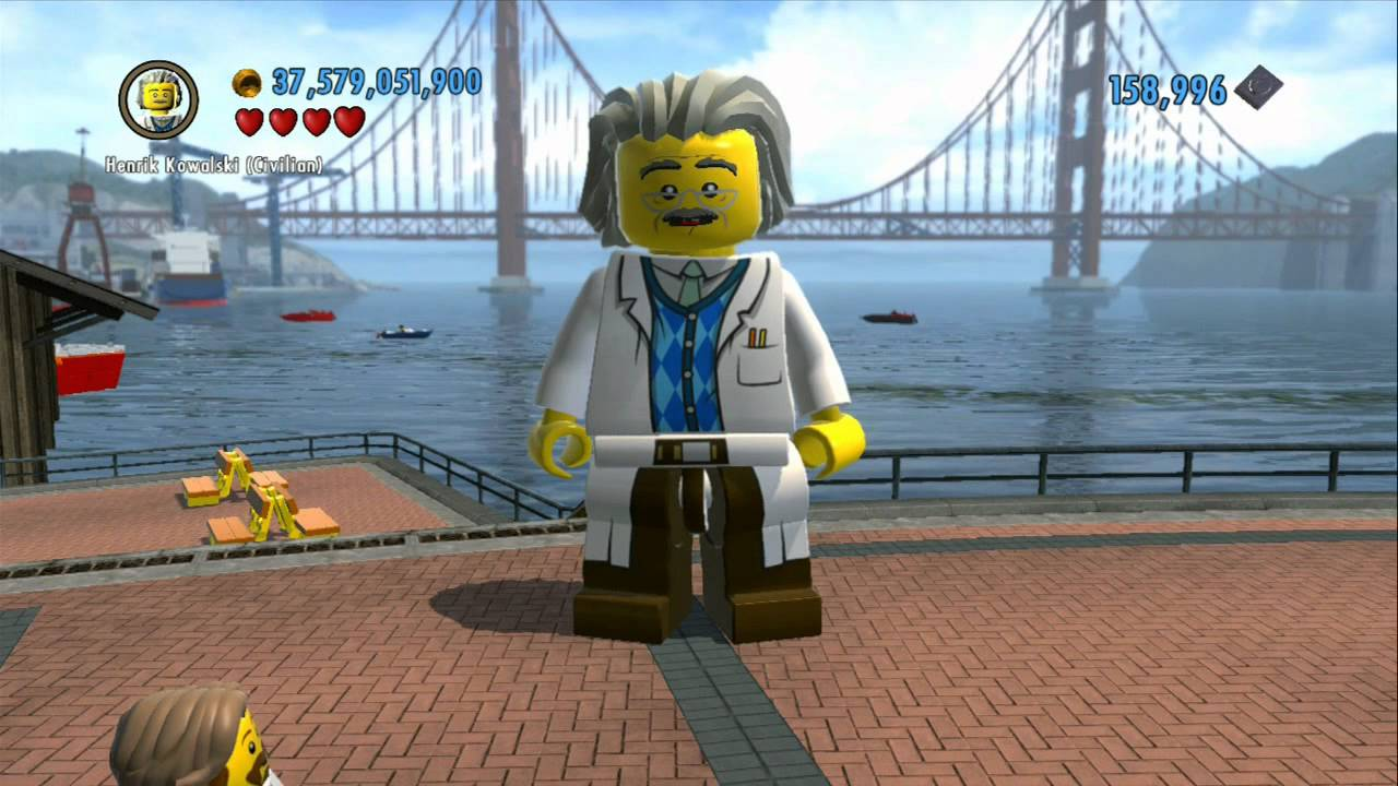 Lego City Undercover Chase Mccain Minifigure | www ...