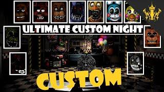 Ultimate Custom Night - ''SFM Custom Series Edition'' FNAF ANNIVERSARY video | Bertbert