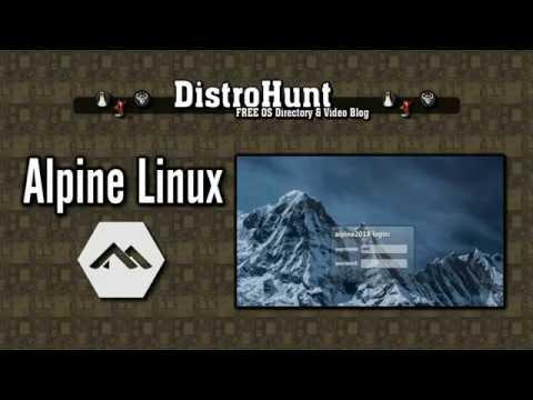 Alpine Linux 2018 12
