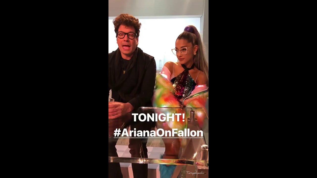 Sneak Peek Ariana Grande on The Tonight Show Starring Jimmy Fallon May 1, 2018