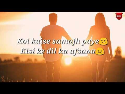 mohabbat-se-nahi-waqif  -whatsapp-status-video  -gourav-mehra  -2018