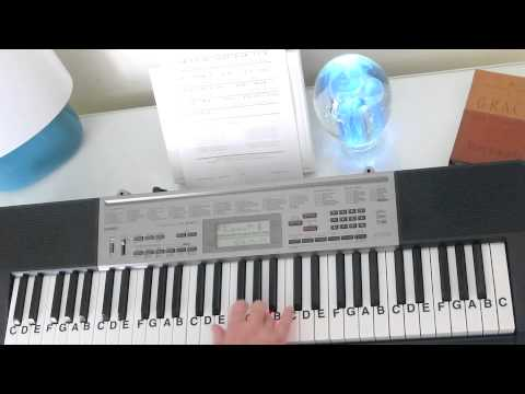 How to Play ~ O Holy Night ~ Christmas Carol ~ LetterNotePlayer ©