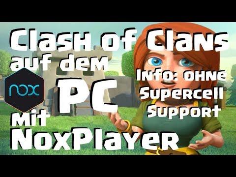 [498] Clash of Clans auf dem PC mit Nox Player! Mit Performance Tipps COC Deutsch