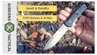 TOPS & Al Mar Mini SERE Operator Knife