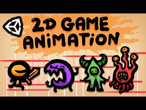 HOW TO MAKE 2D GAME ANIMATIONS IN UNITY - BEGINNER TUTORIAL
