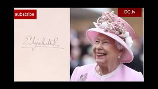 royals signature history/grand royal signature/prince William and kate/queen Elizabeth/royal family