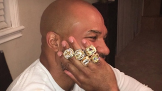 THEIF STEALS ALL OF DEREK FISHER'S RINGS IN A HOME INVASION!