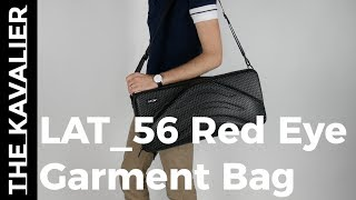Crease Free Suit Packing in a Small Package | Lat 56 Red Eye Garment Bag Review