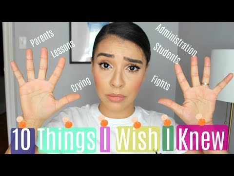 10-things-i-wish-i-knew-before-becoming-a-teacher
