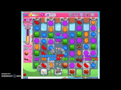 Candy Crush Level 1801 help w/audio tips, hints, tricks