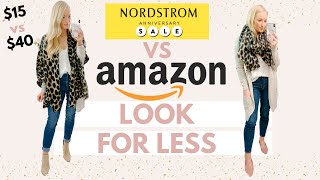 RECREATING MY NORDSTROM ANNIVERSARY SALE TRY ON HAUL WITH AMAZON PRIME DUPES | Amanda John