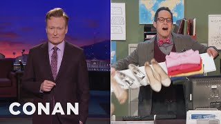 Conan Consults A Beverly Hills Geologist  - CONAN on TBS