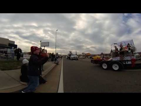 VR view of 2016 Sevierville Christmas Parade