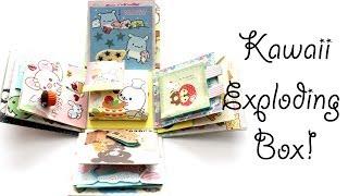 Kawaii San-X Exploding Box (Timelapse)