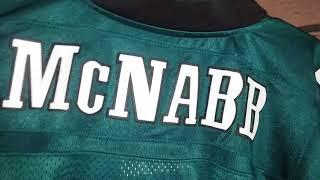 Philadelphia Eagles 2002-04 home retail authentic Reebok football jersey