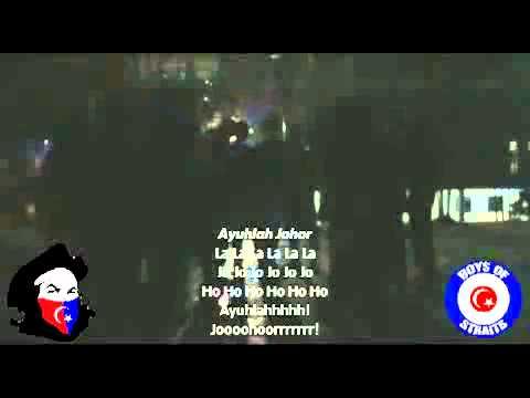 Boys Of Straits (Chant) - Koleksi Lagu dan Lirik Ultras Johor
