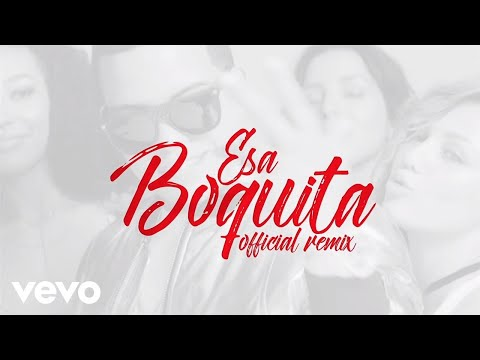 J Alvarez Ft. Zion y Lennox - Esa Boquita [Official Music Remix]