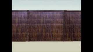 Davey Brushwood Fencing 3d