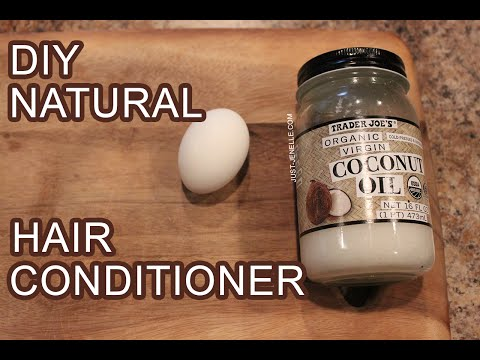 DIY Coconut Oil And Egg Conditioner | Natural Hair