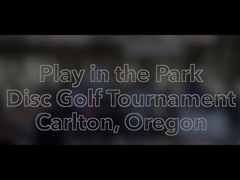 Play in the Park Disc Golf Event