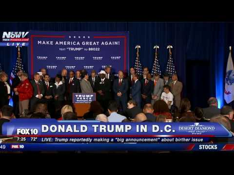 FNN: Donald Trump Rally; White House Press Briefing; Officer-involved shooting in West Philadelphia