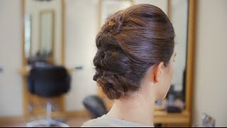 Step-by-Step Guide to a Topsy Turvy Updo Thumbnail