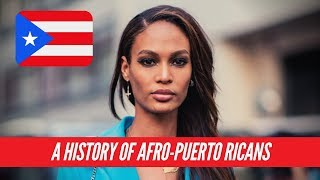 A History Of Afro-Puerto Ricans