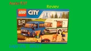 Обзор новинки Lego city микроавтобус и фургон