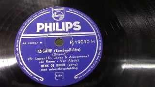 Henk de Bruin: Tzigane. (ca1955).
