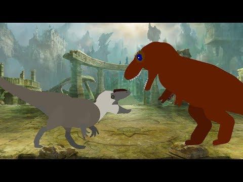 AODC Tyrannosaurus rex vs Yutyrannus