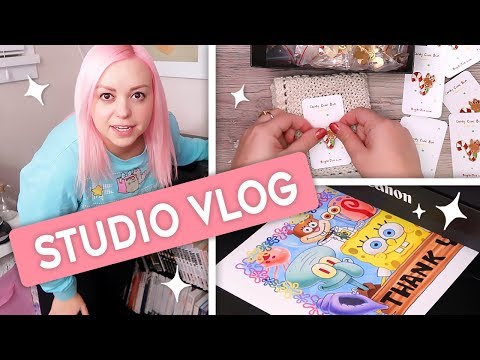 STUDIO VLOG - Enamel Pins, Printing & Packaging from YouTube · Duration:  14 minutes 28 seconds