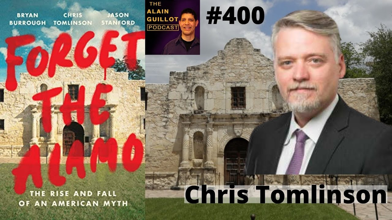 Download 400 Chris Tomlinson: Much of what you heard about El Alamo is not true