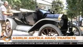 Kanal 24 haber - Antika otomobili ile Bursa yollarında geziyor-1915 Ford Model T