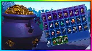 "Before You Buy ""LUCKY COINS"" - All Skin Combinations Showcased in Fortnite (145+ Skins)"