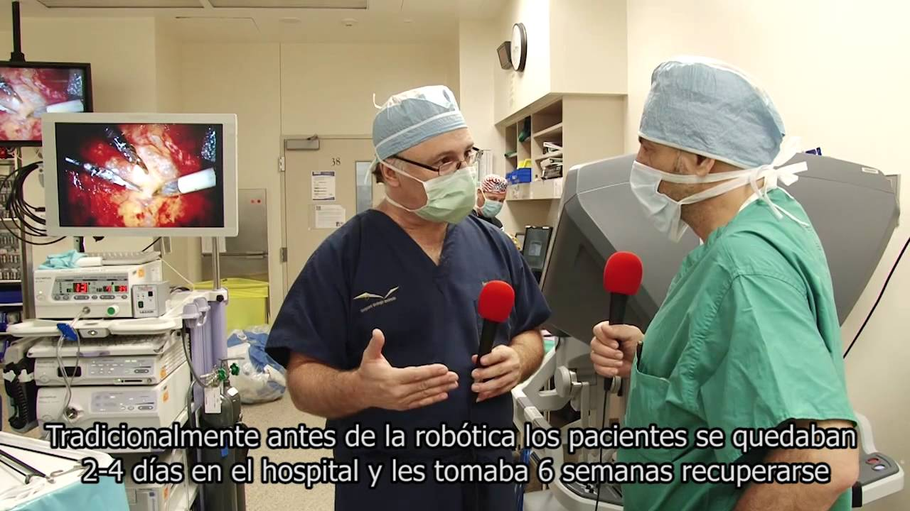 robot da vinci prostata video