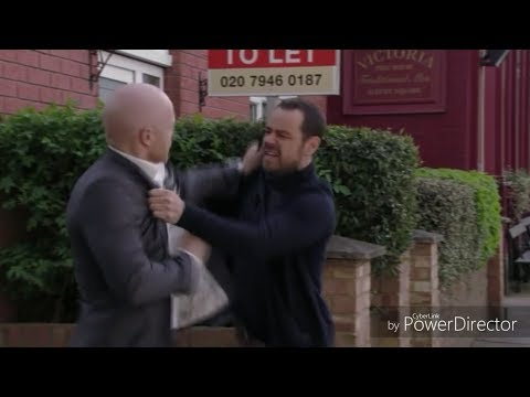 EastEnders - Mick Carter Vs. Max Branning (23rd May 2017)