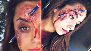 Lápiz  clavado - Maquillaje Hallowen - Makeup fx
