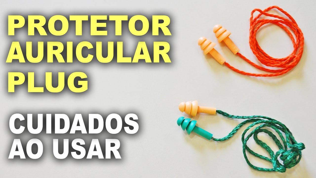 Protetor auricular tipo PLUG - YouTube ed1b5c51a3