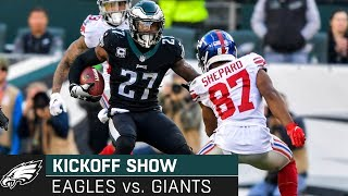 The Kickoff Show: Philadelphia Eagles vs. New York Giants | 2019 Week 14