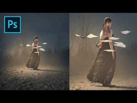 Photoshop Tutorial - Create a Dusty Background thumbnail
