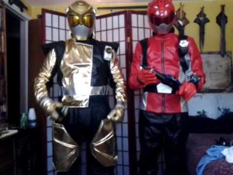 Go-Busters cosplay Test
