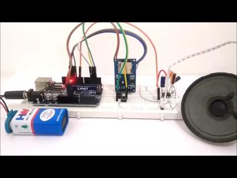 Audio/Music Player with Amplifier using Arduino