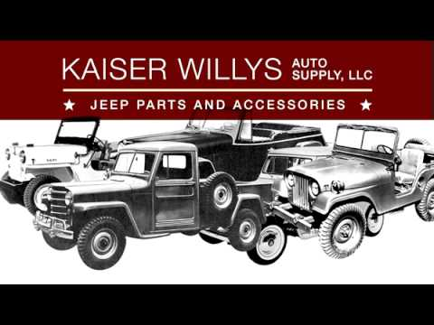 Kaiser Willys Jeep Parts Auto Supply - YouTube