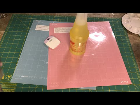How to clean your cricut pink fabric mat