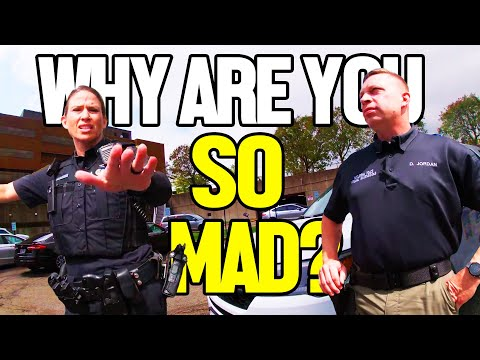 Cops Arrest Angry Woman